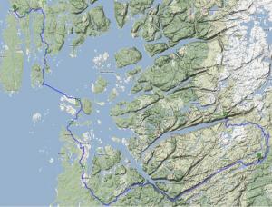 Til Kjerag fra Haugesund